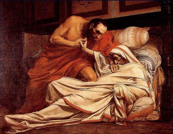 Przyczyny śmierci Tyberiusza pozostają niejasne