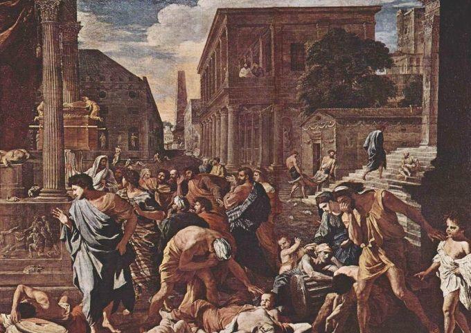 W epoce starożytnej zarazy bardzo często nawiedzały ludność