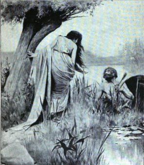 Dejanira, pragnąc zapewnić sobie wierność męża, przyjęła od centaura Nessosa dar, który doprowadził do śmierci Heraklesa.
