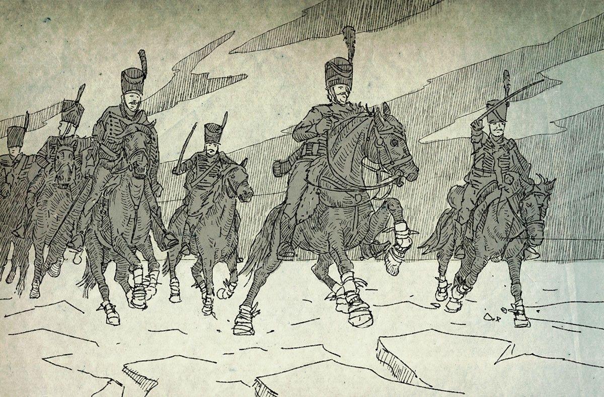 Francuscy huzarzy pokonali... okręty!