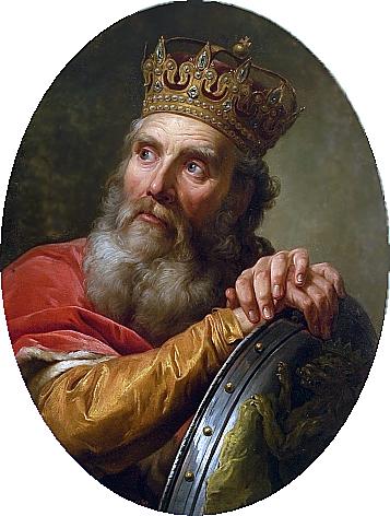 Kazimierz Wielki z pocztu królów polskich Marcello Bacciarelli