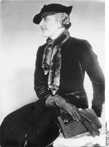 Magda Goebbels – zawsze ubrana modnie i wytwornie