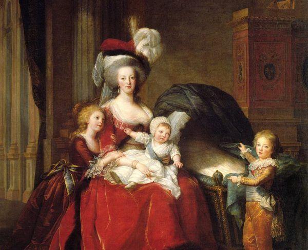 Związek Marii Antoniny i Ludwika XVI został skonsumowany dopiero 7 lat po ślubie