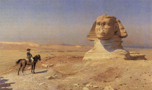 Napoleon zdecydowanie bardziej wierzył w sukces w Egipcie
