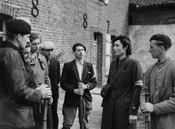 Maquis (ruch oporu) w Wimille, 14 września 1944