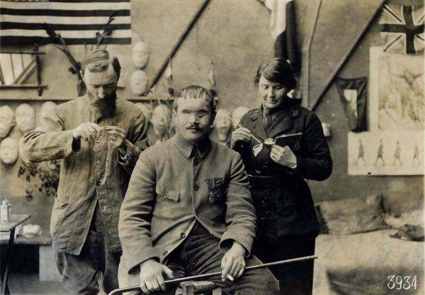 Anna Coleman pomogła wielu rannym żołnierzom