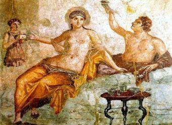Wokół uczt rzymskich narosło wiele mitów