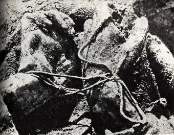 Węzeł katyński – ręce związane na plecach ofiary