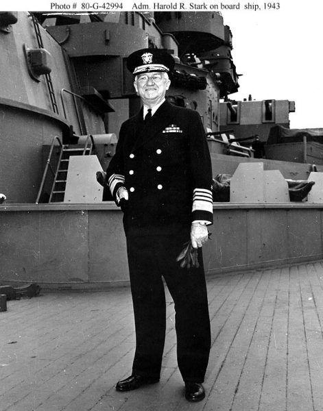 Admirał Harold Stark 1943