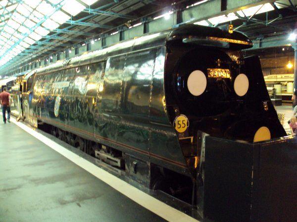 Pociąg, którym transportowano ciało Churchilla