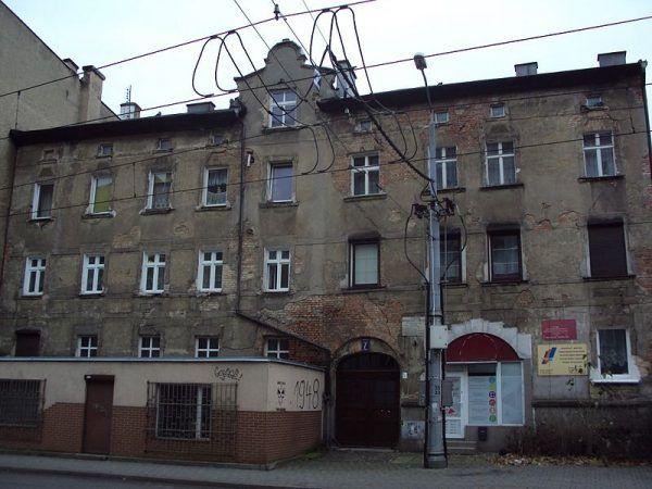 Kamienica przy ul. Niemierzyńskiej 7 w Szczecinie, gdzie mieszkał Józef Cyppek