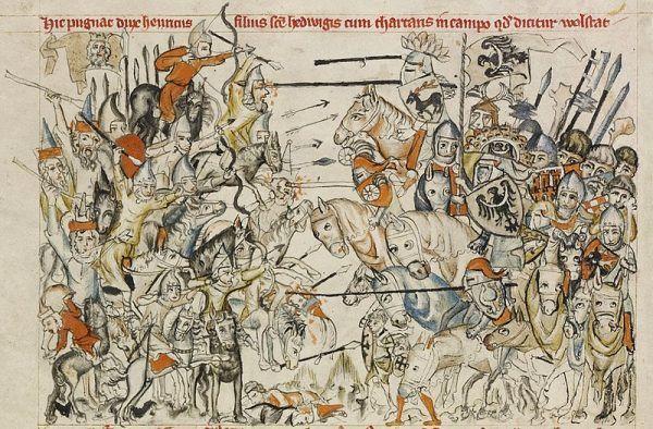 Bitwa pod Legnicą, Legenda o świętej Jadwidze (1353)