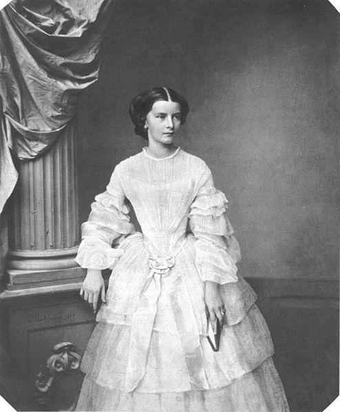 Młoda Elżbieta, 1854