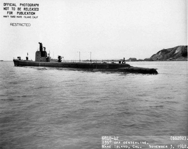 USS Tunny (SS 282)