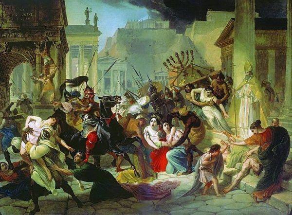 Wandalowie doszczętnie złupili Rzym