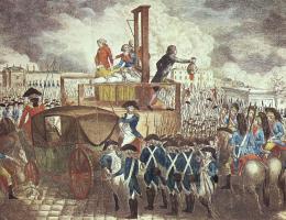 Ludwik XVI stał się jedną z pierwszych ofiar Wielkiego Terroru