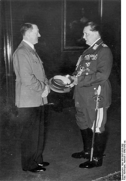 Adolf Hitler i Göring, 1940