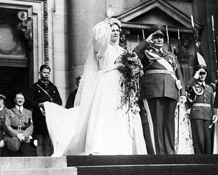 Emmy i Herman Göring w dniu ślubu