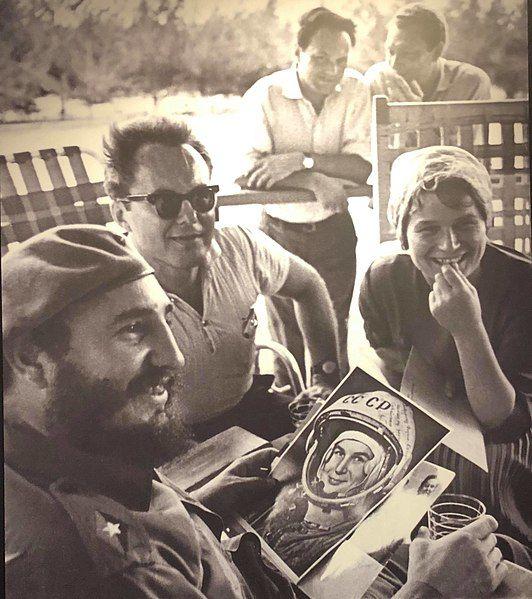 Valentina Teresjkova i Fidel Castro, Havana, 1963