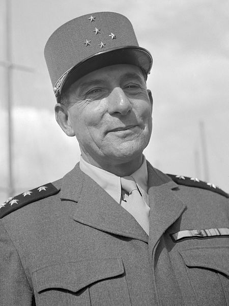 Marszałek Jean de Lattre de Tassigny