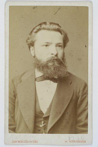 Julian Ochorowicz na fotografii Jana Mieczkowskiego