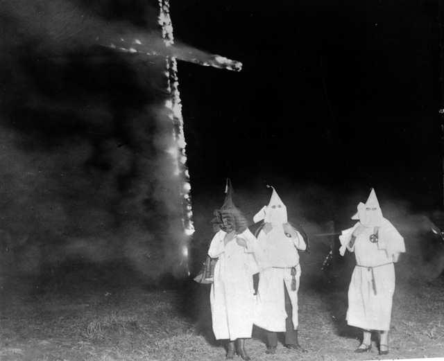Ku Klux Klan pozował na organizację non profit