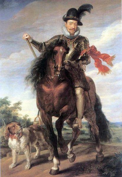 Portret Zygmunta III ze szkoły Rubensa ok. 1624 r.