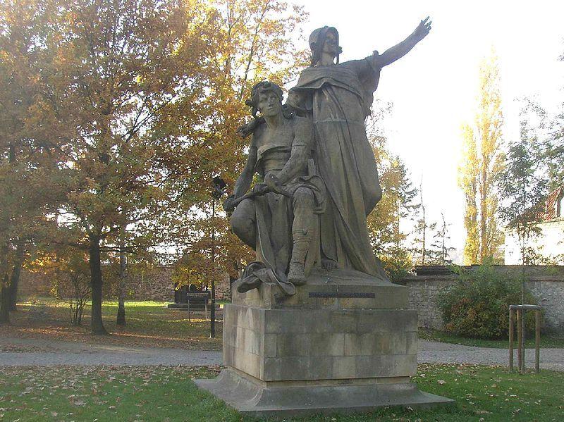 Przemysł i Libusza, Josef Václav Myslbek (1881), Vyšehrad