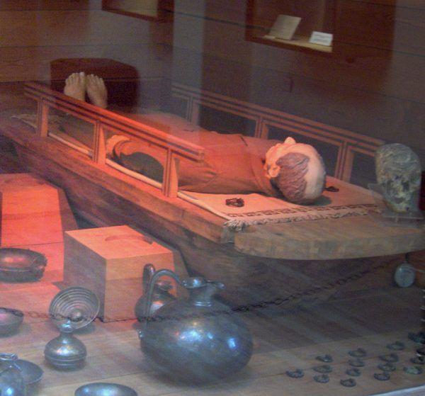 Rekonstrukcja grobowca króla Midasa