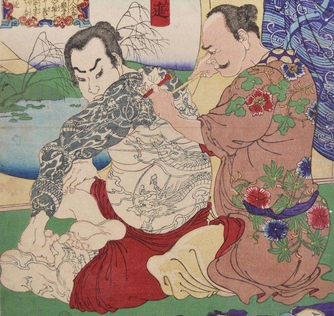Sztuka tatuażu w Japonii ma długą historię