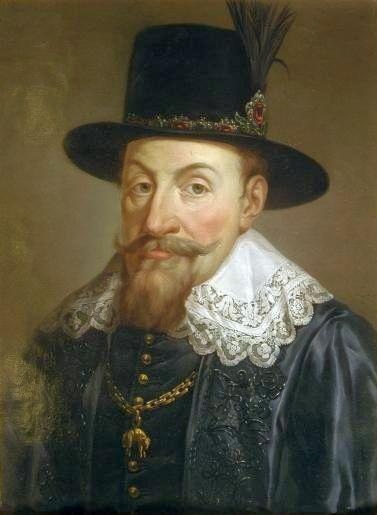 Zygmunt III Waza z pocztu królów polskich Marcello Bacciarelli.