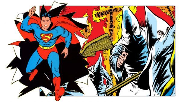 Superman vs Ku Klux Klan