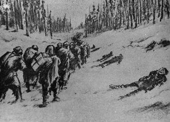 Wielu zesłańców nie było w stanie przeżyć morderczych marszy