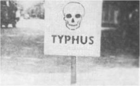 Tyfus przerażał okupantów