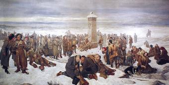 Aleksander Sochaczewski, Pożegnanie Europy, 1894