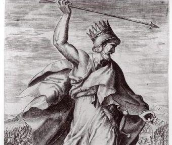 By utrzymać władzę Artaxerxes II musiał pokonać brata