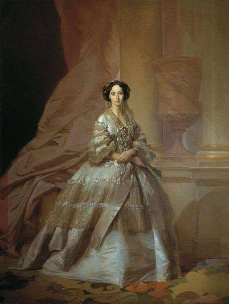 Cesarzowa Maria Aleksandrowna jeszcze jako szczęśliwa żona