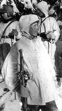 Fiński strzelec wyborowy Simo Häyhä