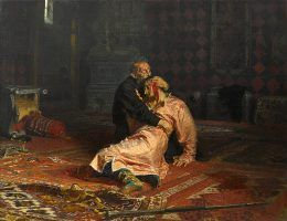 Iwan Groźny zamordował syna...
