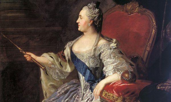 O Katarzynie II krążyło wiele plotek