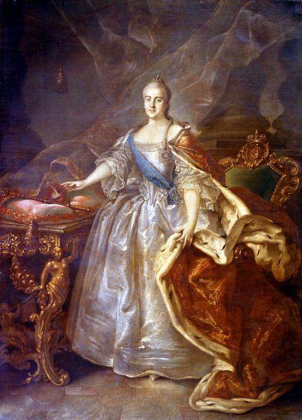 Katarzyna Wielka starannie dobierała kochanków