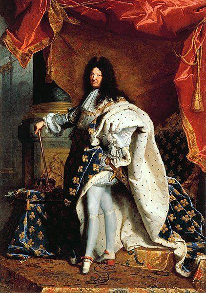 Ludwik XIV cierpiał na problemy gastryczne