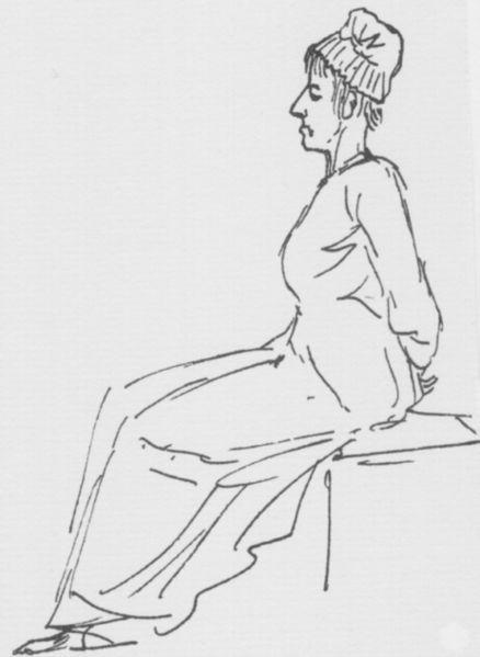 Maria Antonina w drodze na gilotynę