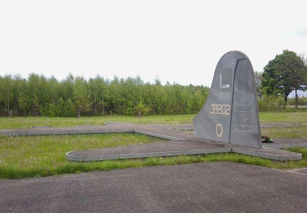Pomnik Amerykańskich Lotników. Woroniec