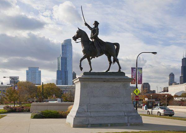 Pomnik Kościuszki w Chicago