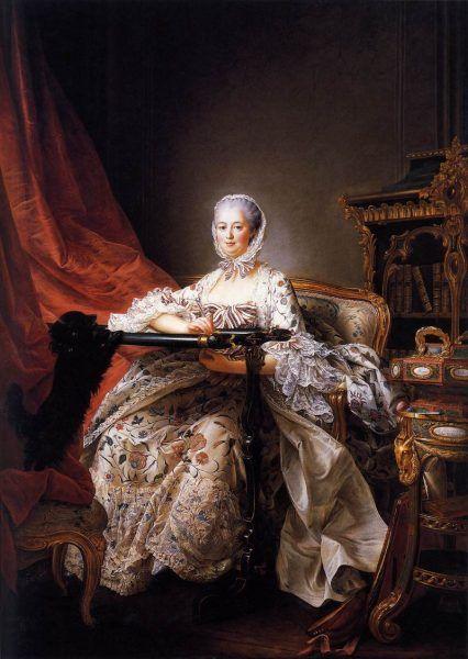 Portret markizy pędzla François Huberta Drouais