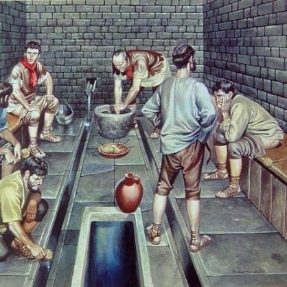 Jak Rzymianie radzili sobie bez papieru toaletowego?