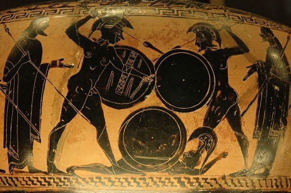 Cyrus wierzył w potęgę hoplitów