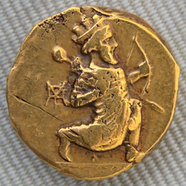 Moneta z wizerunkiem Artaxerxesa II
