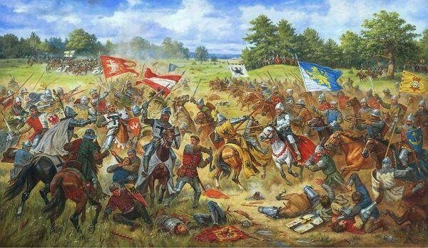 Artur Orlonow, Chorągiew lwowska w bitwie pod Grunwaldem